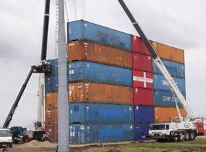 Eksempel på containerudlejning