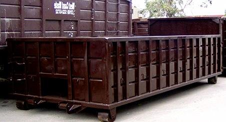 Udlejning af containere til private.